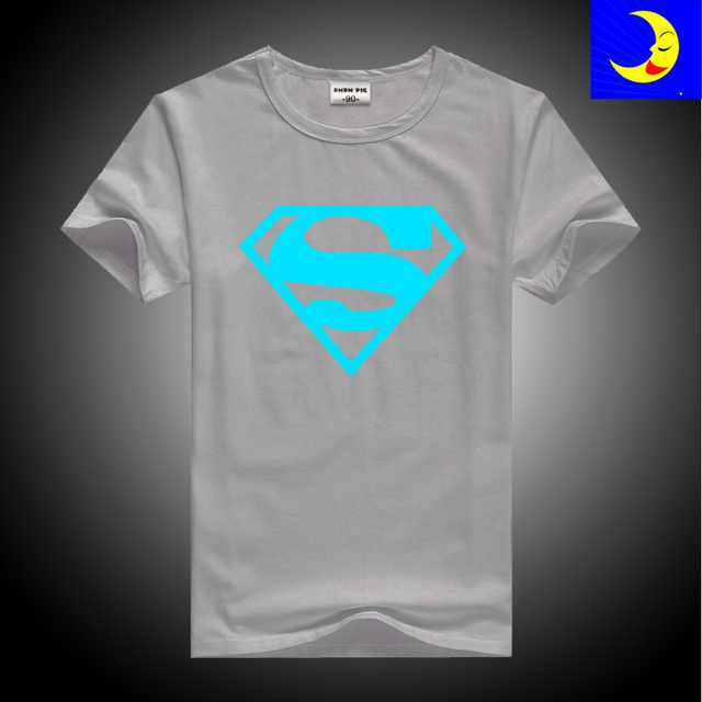 6830d1bb1 DMDM PIG Luminous T Shirts Baby Superman TShirt Children Toddler ...