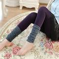 F124 new winter fashion knitting wool tights primer nine piles plus pantyhose 185g file