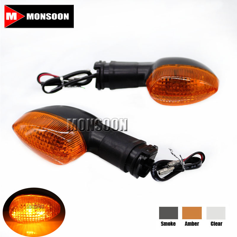 For YAMAHA YZF R1 R6 R6S R125 YZF-R1 YZF-R6 Motorcycle Accessories Blinker Turn Signal Light Indicator Lamp Amber