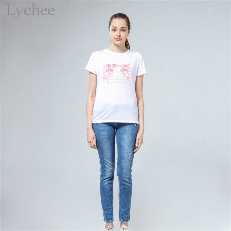 HTB10s0PajnuK1RkSmFPq6AuzFXae - Lychee Japanese Anime Cartoon Sailor Moon Print Women T-Shirt White Casual O-Neck Short Sleeve T Shirts Tee Top Female