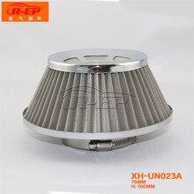 Автомобильный воздушный фильтр 76 мм фильтр из нержавеющей стали Чистая Грибная головка высокий поток воздуха фильтр