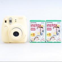 A estrenar de Fujifilm Instax Mini 8 cinco colores cámara instantánea 2 Boxes Instax Mini película filo liso ( 40 fotos ) envío gratis