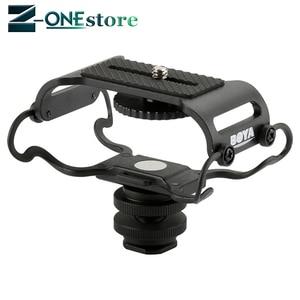 Image 5 - Внешний микрофон BOYA для Zoom H4n/H5/H6, устройство для записи DR 40 DR 05, ударопрочное крепление Olympus Tascam