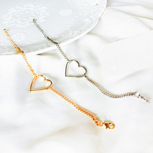Minimalist wind the bracelet hearts collocation of young girls love birthday gift I love ornaments on the street bracelet +EE1