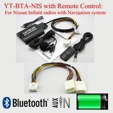 Yatour bluetooth auto mp3 bta con telecomando per nissan infiniti radio con sistema di navigazione