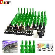 Universal Motorcycle Accessories Fairing Bolts Screw Kit For Suzuki BANDIT1200/S 01-06 BANDIT1250/S/F 06-15 GS1200SS 01-02