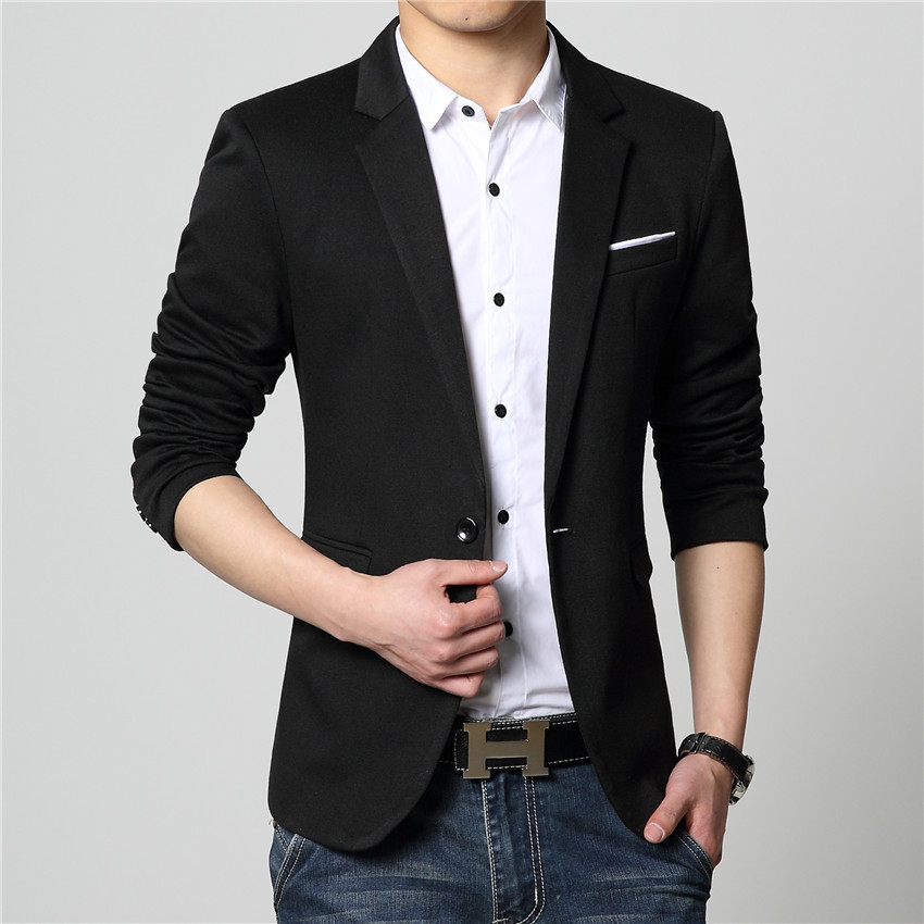 2015 New Arrival Luxury Business Casual Suit Men Blazers Set