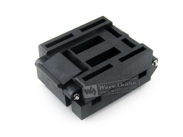 IC51 0804 956 2 IC51 0804 956 Yamaichi IC Test Socket Adapter 0 65mm Pitch QFP80