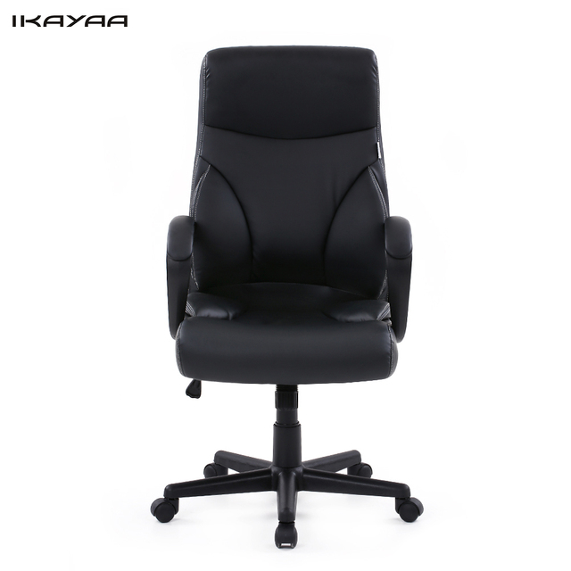 Executive Revolving Chair Specifications Elegant Folding Chairs Ikayaa Us Stock Dxracer Pu Leather Adjustable Swivel Office Stool High Back Computer