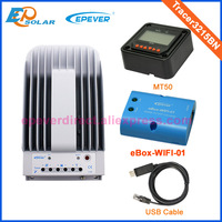 Solar tracker controller mppt EPsolar Tracer3215BN USB cable wifi connect function MT50 meter 30A 30amp EPEVER