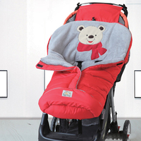 2018 new Baby sleeping bag winter thickening out to hold baby sleeping bag children stroller sleeping bag