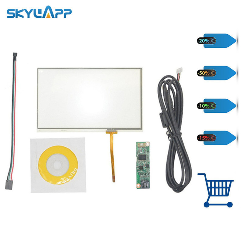Enthusiastic Skylarpu New 7 Inch 165mm*100mm 4 Wire Universal Touch Screen Gps Aa292a 164.9*100mm With Usb Controller Digitizer Panel Glass Tablet Accessories