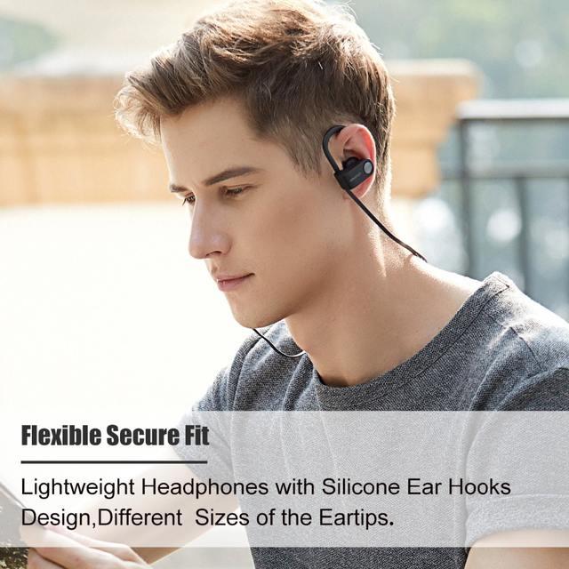 Bluetooth 5.0 Wireless Earphones wtih Ear Hooks