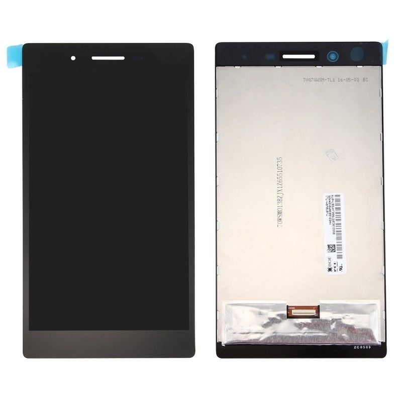 Color : Black Black HTTX TENS AYSMG LCD Screen and Digitizer Full Assembly for BQ Aquaris V Plus