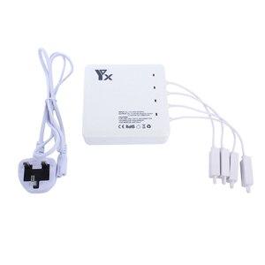 Image 5 - 6 in 1 Drone Batterij afstandsbediening oplader Intelligente Opladen met Usb poort Voor DJI Mavic air Accessoires