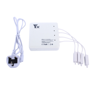 Image 5 - 6 in 1 Drone Battery remote control charger Intelligent Charging  with USB Port For DJI Mavic air Accessories