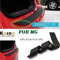 KOSOO Para MG MG3/MG6/MG7/MGTF/35 W Rear Bumper Guard Proteger Guarnição Da Tampa de Borracha mat pad carro styling peitoril
