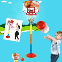 4 Sizes Adjustable Kids Basketball Backboard Stand Net Set Portable Children Outdoor Indoor Sport Training Toy Balls Stand Hoops