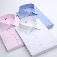 2015 Summer Male Casual Short Sleeve Shirt Slim Formal Business Shirt Short Sleeve Tooling Service