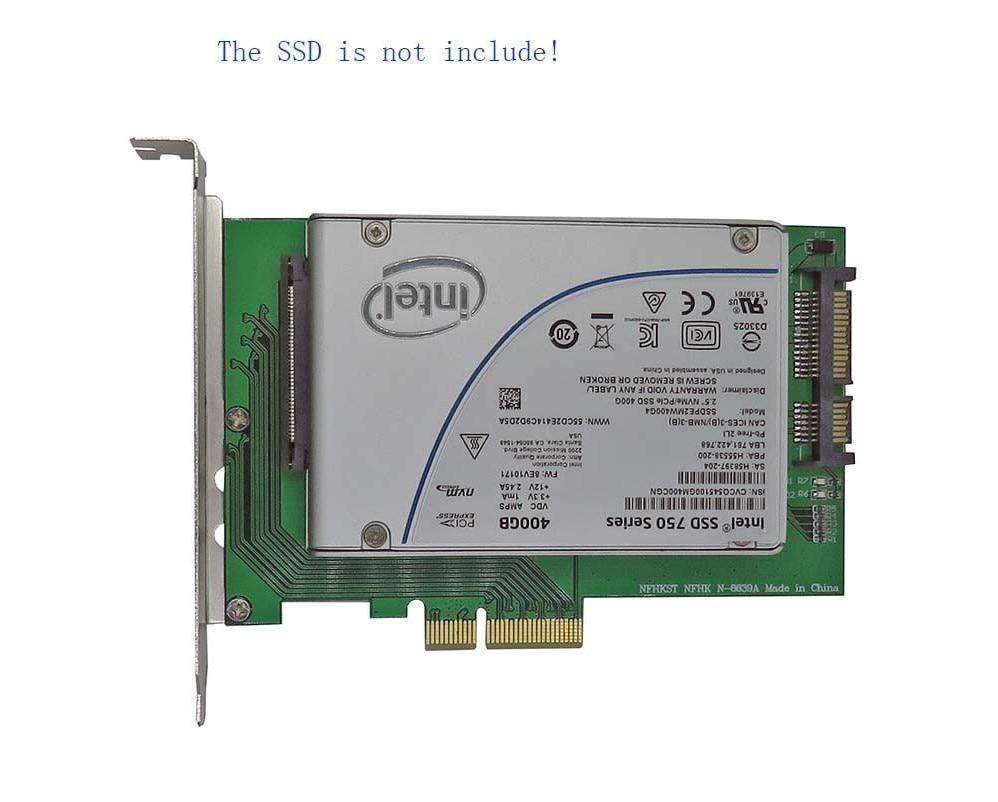 PCIe x4 to U.2 SFF 8639 MZ6ER400HAGM OCZ Z Drive 6000 ...
