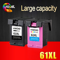 2 Pack  Ink Cartridge Compatible  for HP 61 XL for HP Deskjet 1000 1050 1055 2000 2050 2512 3000 J110a J210a J310a Printer