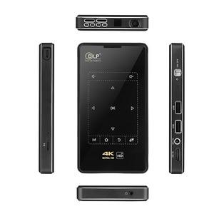 Image 3 - DLP IMK95 جهاز عرض صغير 4K أندرويد 6.0 HDMI USB جهاز عرض محمول 2.4G 5G واي فاي بلوتوث 4.1 السينما المنزلية X2 العارض