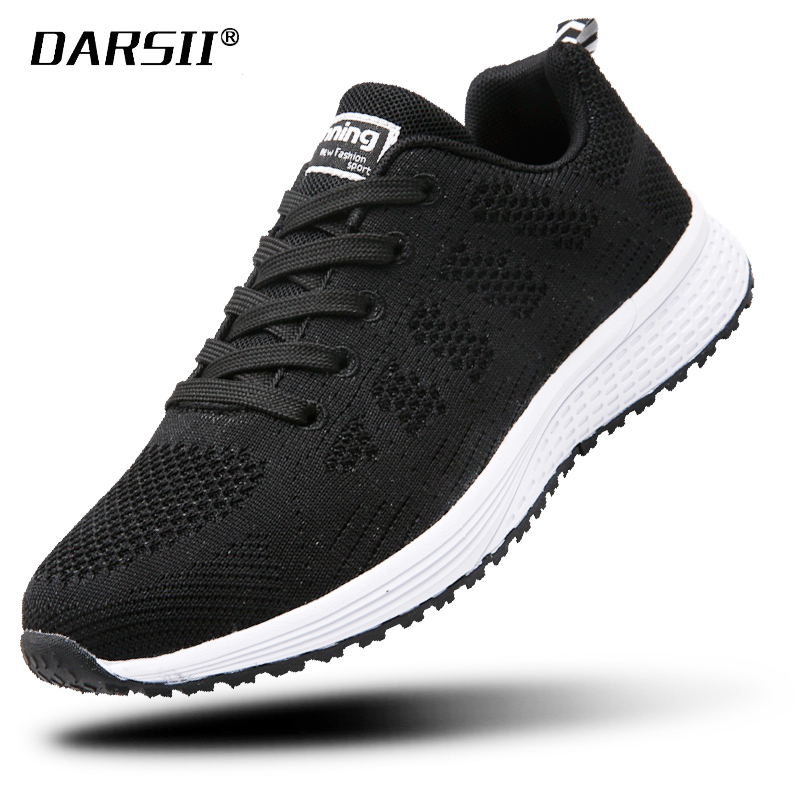 Flying weaving Womens Casual Shoes Air Mesh Sneakers Women Platform Shoes Lace-up Flat Shoes loafers women Chaussure Femme BlackFlying weaving Womens Casual Shoes Air Mesh Sneakers Women Platform Shoes Lace-up Flat Shoes loafers women Chaussure Femme Black