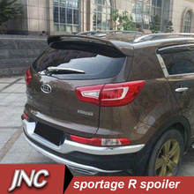 Rear Car Spoiler Wings For kia sportage R Auto Exterior Parts Spoilers Wings sportage r spoiler ABS plastic material primer