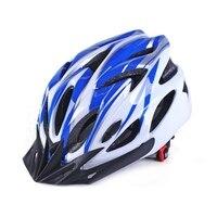 Nieuwe Fietshelm Integraal gegoten Super Light MTB Mountain Road Fiets Helm Verstelbare Fiets Voor Road/Berg/ BMX Jeugd