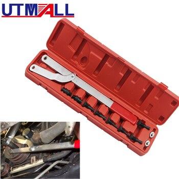 цена на Universal Automotive Camshaft Pulley Fan Clutch Alignment Removal Holder Tool Set