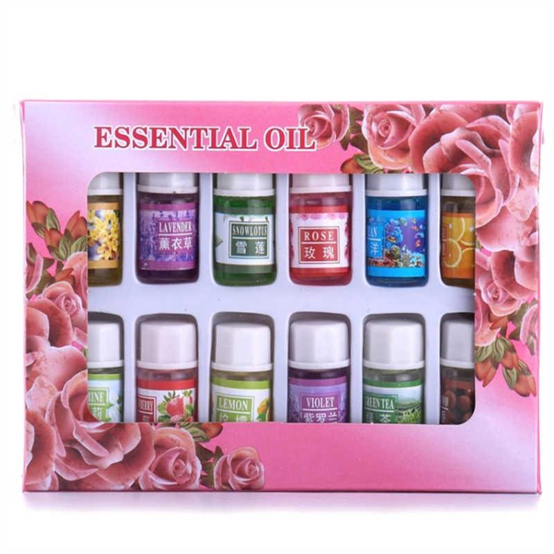 Dimollaure 12 sortes parfum huile essentielle paquet aromathérapie huile Magnolia jasmin lys fraise santal Violet rose lotus