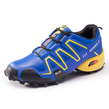 ФОТО men's sneakers comprehensive training shoes climbing shoes canvas travel camping shoes men large size breathable sports shoes