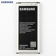 Original Replacement Battery For Samsung GALAXY S5 mini S5MINI G870A G870W SM-G800F Authentic EB-BG800BBE EB-BG800CBE 2100mAh