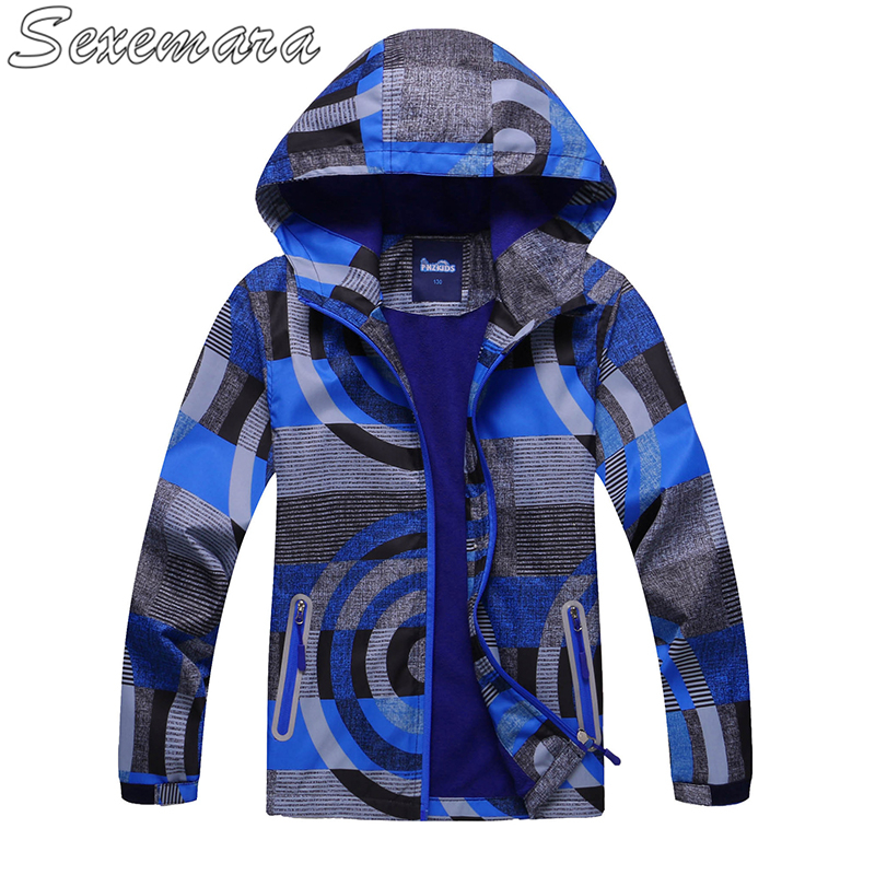 SexeMara Childrens outdoor jacket in the big children outdoor breathable tasteless childrens wear plus velvet hood windbreakerSexeMara Childrens outdoor jacket in the big children outdoor breathable tasteless childrens wear plus velvet hood windbreaker