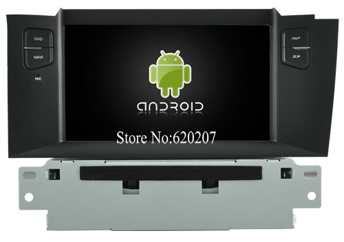 S160 font b Android b font 4 4 4 CAR GPS DVD player FOR CITROEN C4L