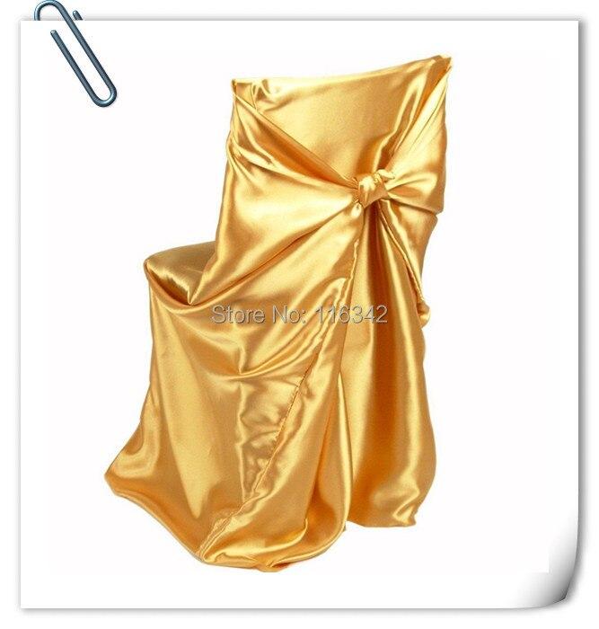 Harga Pabrik BERBAGAI !! 50 pcs Kursi Pernikahan Meliputi untuk sebagian besar gaya kursi & tas Penutup Kursi Satin 110 * 140 cm GRATIS PENGIRIMAN