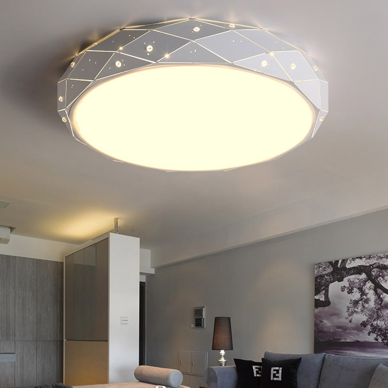 Modern Remote LED Ceiling Light with colourful and dimmer Smart LED ceiling Lamp for living room and bedroom