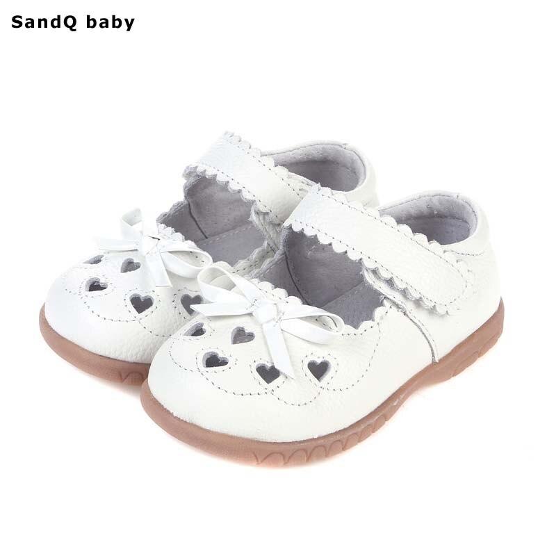 1028.94руб. 15% СКИДКА|Детские сандалии с бантом, из натуральной кожи, для девочек, на лето, 2020|children sandals|sandals for girls|girls princess shoes - AliExpress