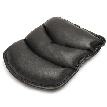 Hollow cotton pu leather surface soft car central armrest cover car armrest case car armrest mats.jpg 350x350