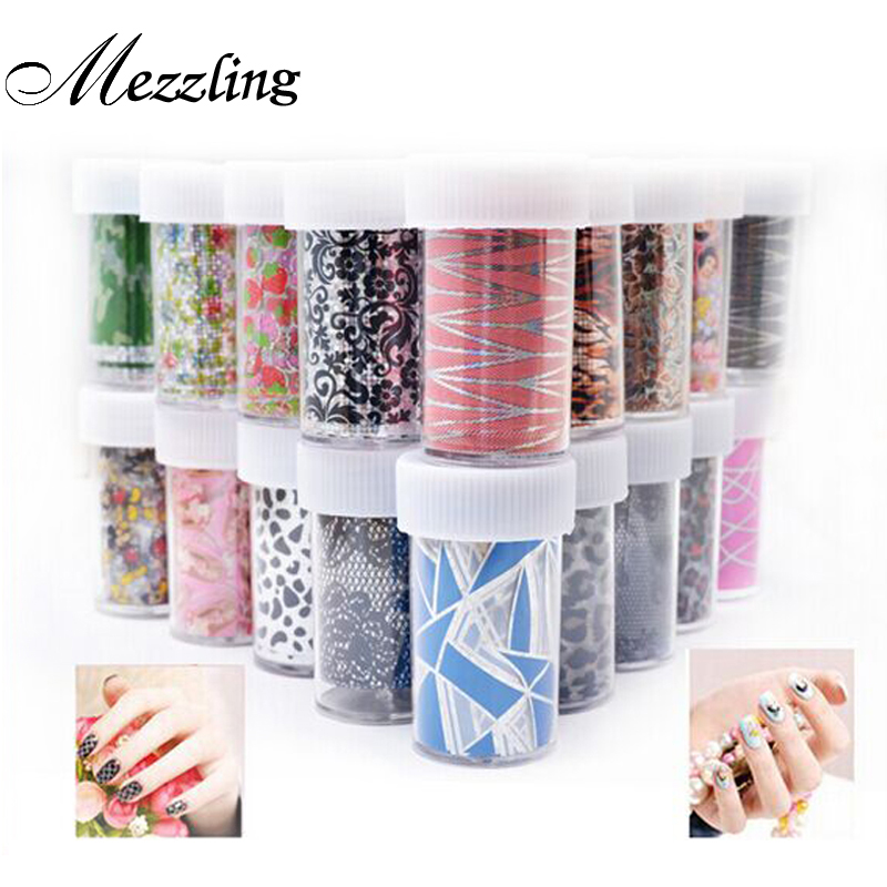 12pcs Nail Transfer Foil Sticker Paper Mix Creative Designs Nail Art Decals Decoration DIY Beauty Manicure Tools hot sale 20 sheets lot 20 4cm nail art transfer foil floral serial sexy black lace pattern nail sticker foil material diy wy188