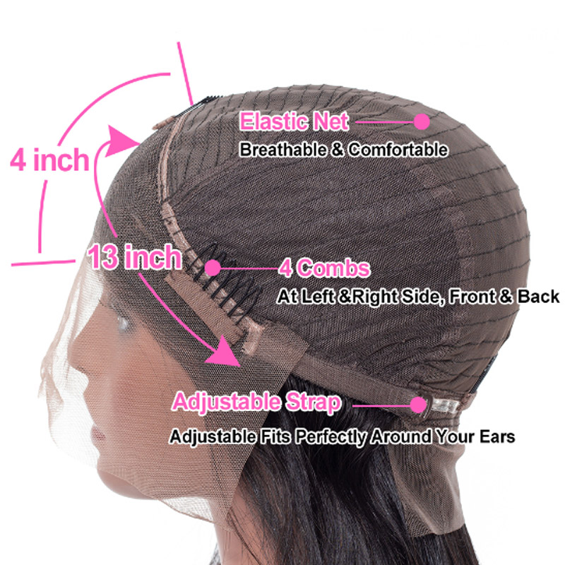 1b/27 Омбре прямые человеческие волосы на кружеве парики медовый блонд основные Remy бразильские парики на кружеве для черных женщин - 4