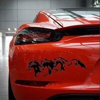 Running Horses Car Sticker  3