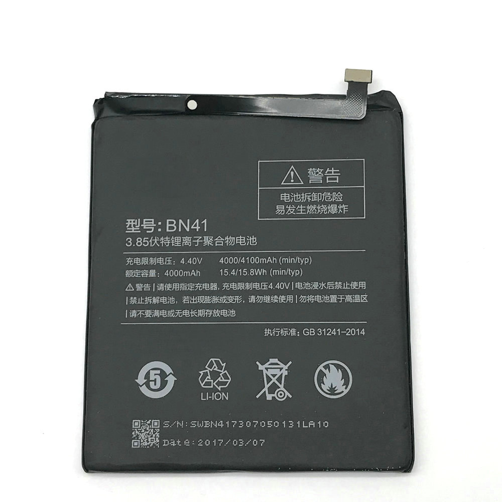 New High Quality BN41 4000mAh battery with tools For Xiaomi Redmi Note 4 phone