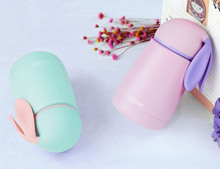 Rabbit Cup Stainless Steel kid bottle For water  Cute Thermal vacuum flask child Tumbler