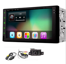 "Car Stereo Double Din 7"" Tablet android 5.1  None-DVD Player GPS Navigation Auto Radio RDS Wifi Bluetooth Wireless Back Camera"