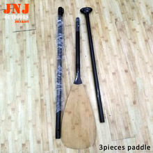 top quality 3pieces carbon fiber sup paddle made by carbon fiber