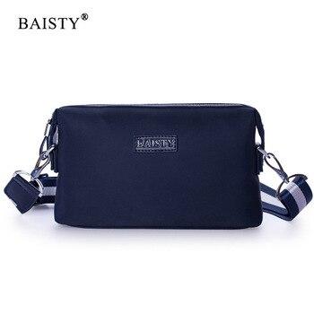 Brand Men Bag Casual Shoulder Crossbody Luxury Men Bags Design High Qulity Blue Solid Color Oxford Waterproof Beach Bag casual straw and solid color design shoulder bag for women