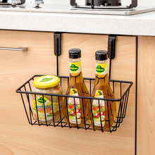 kitchen cabinets wrought iron wall hanging basket storage basket storage rack spice rack shelving drain