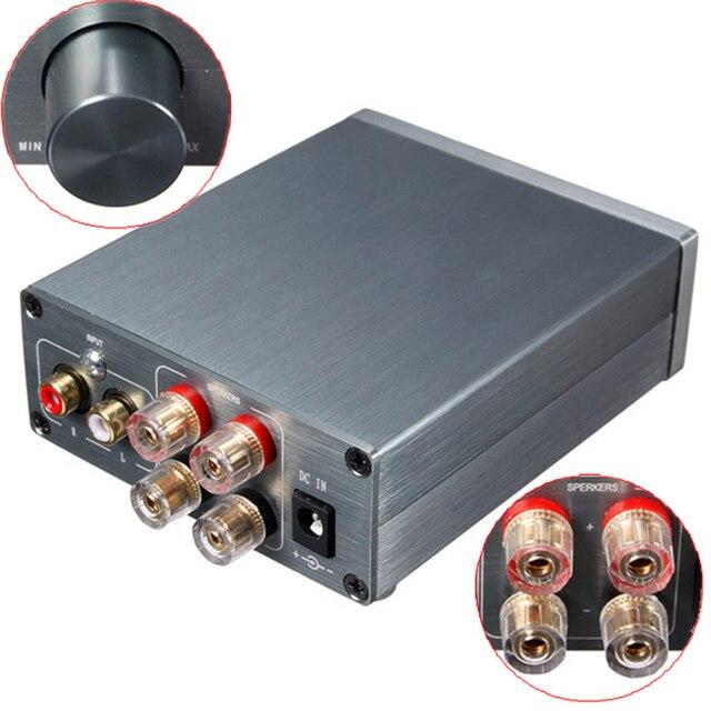 2016 Ветер Аудио Hi-Fi Класса 2.0 Цифровой Аудио Стерео Усилитель Мощности TPA3116 Расширенный 50 Вт + 50 Вт Мини Дома алюминиевый Корпус усилителя