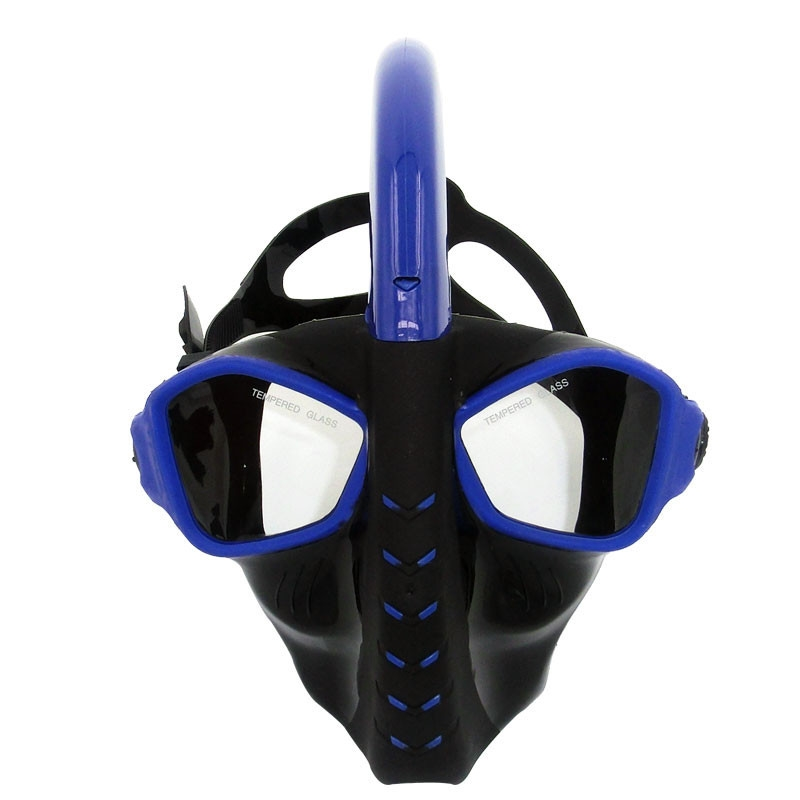 Full Dry Diving Mask Snorkeling Mask Silicone Scuba Maske Mascara Buceo Full Face Masque Tuba Plongee Swim Mask For Adult newest full dry diving mask snorkeling mask silicone scuba mask mascara buceo full face alien style whole dry mask for adult